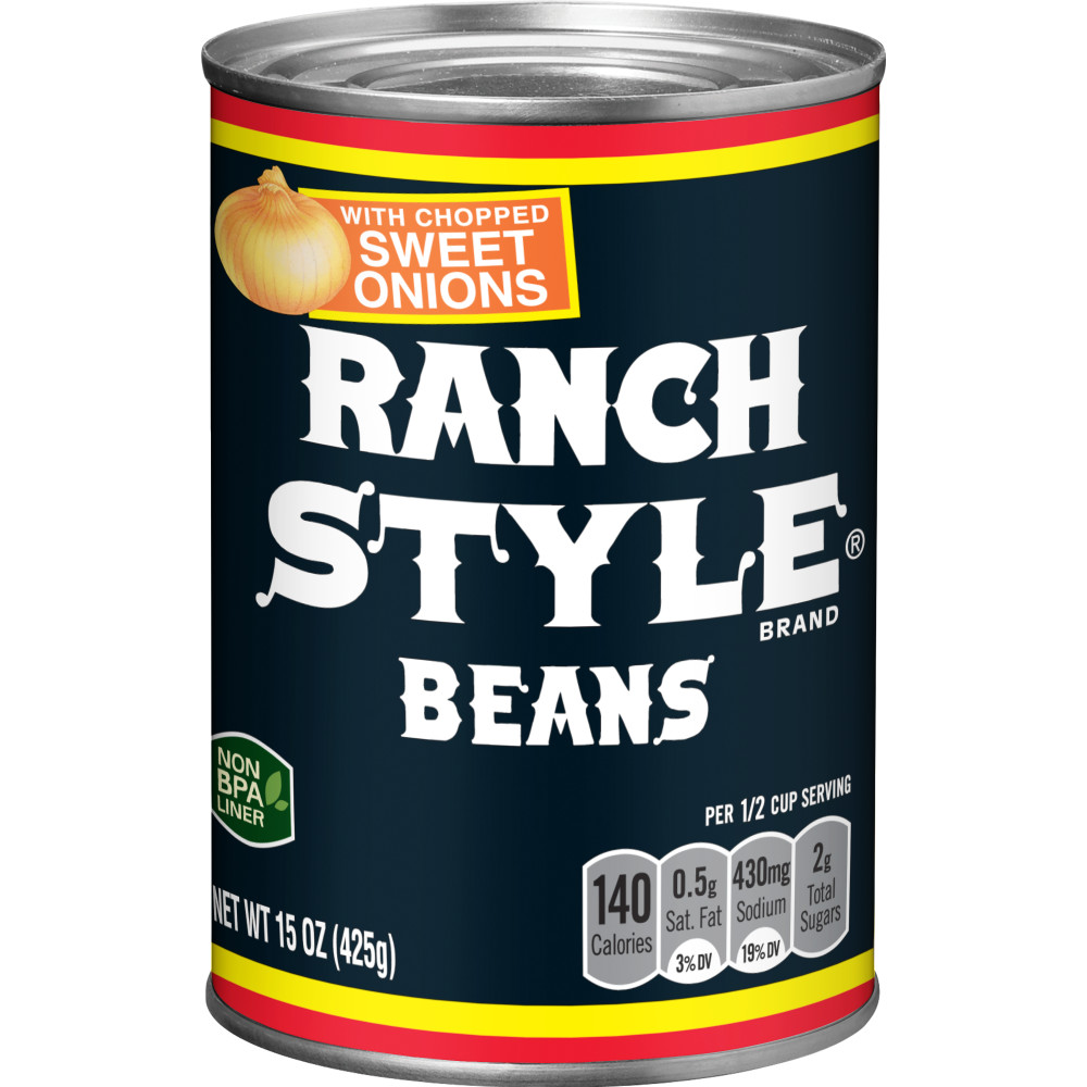 RANCH STYLE Black Label Beans With Onion