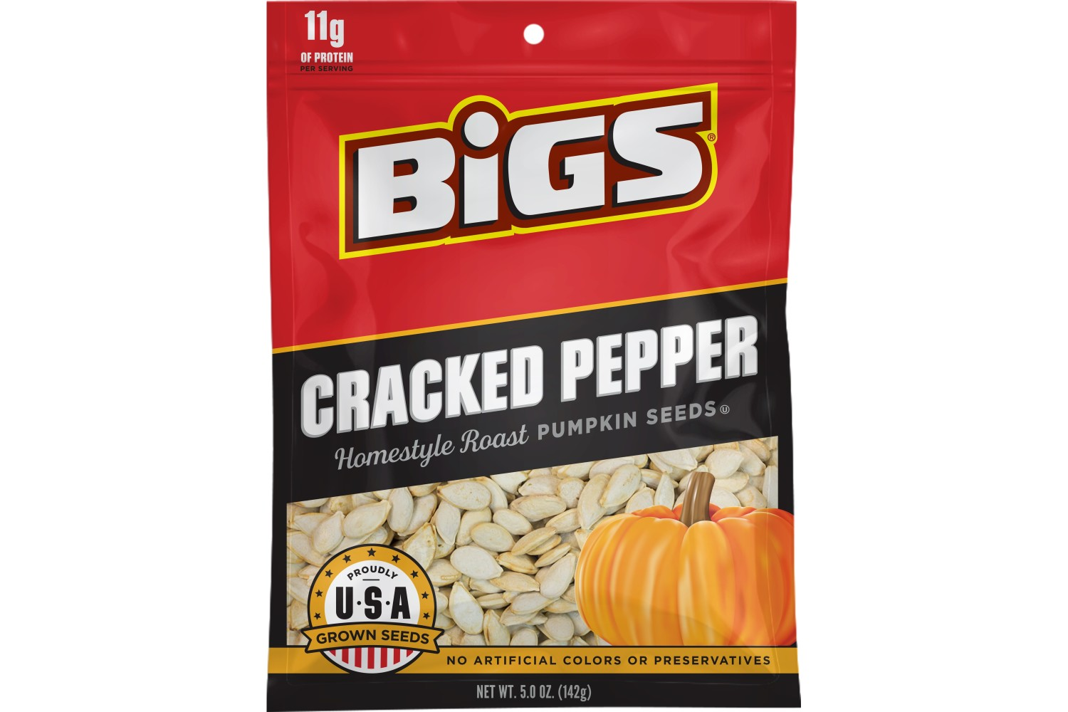 BIGS Cracked Pepper Pumpkin Seeds