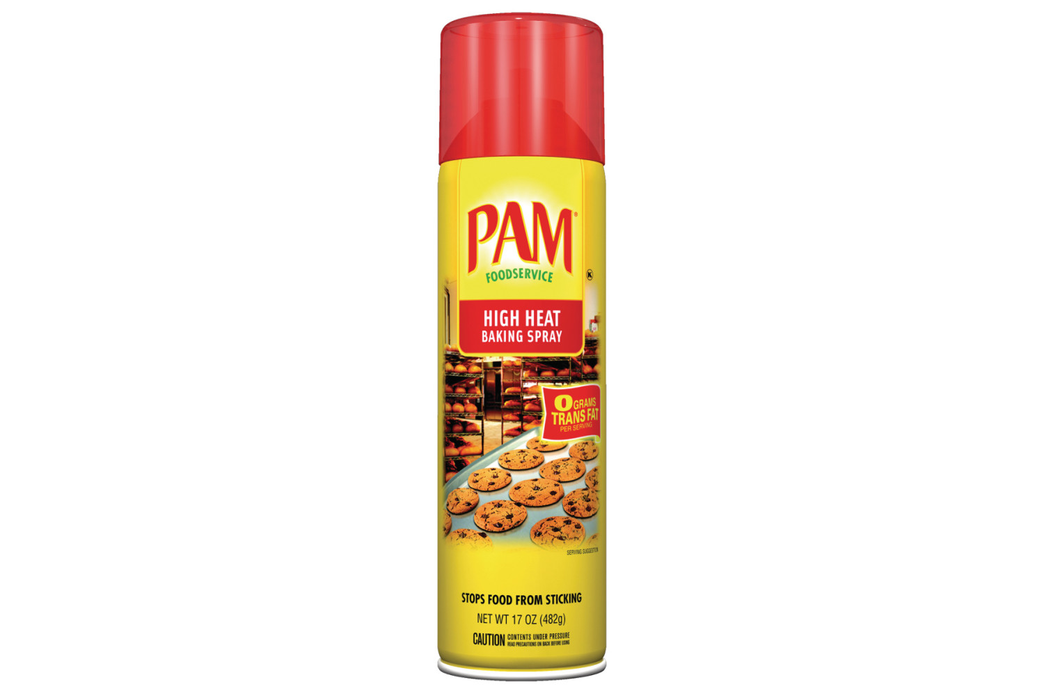 PAM® High Heat Baking Spray - 6/17 oz.
