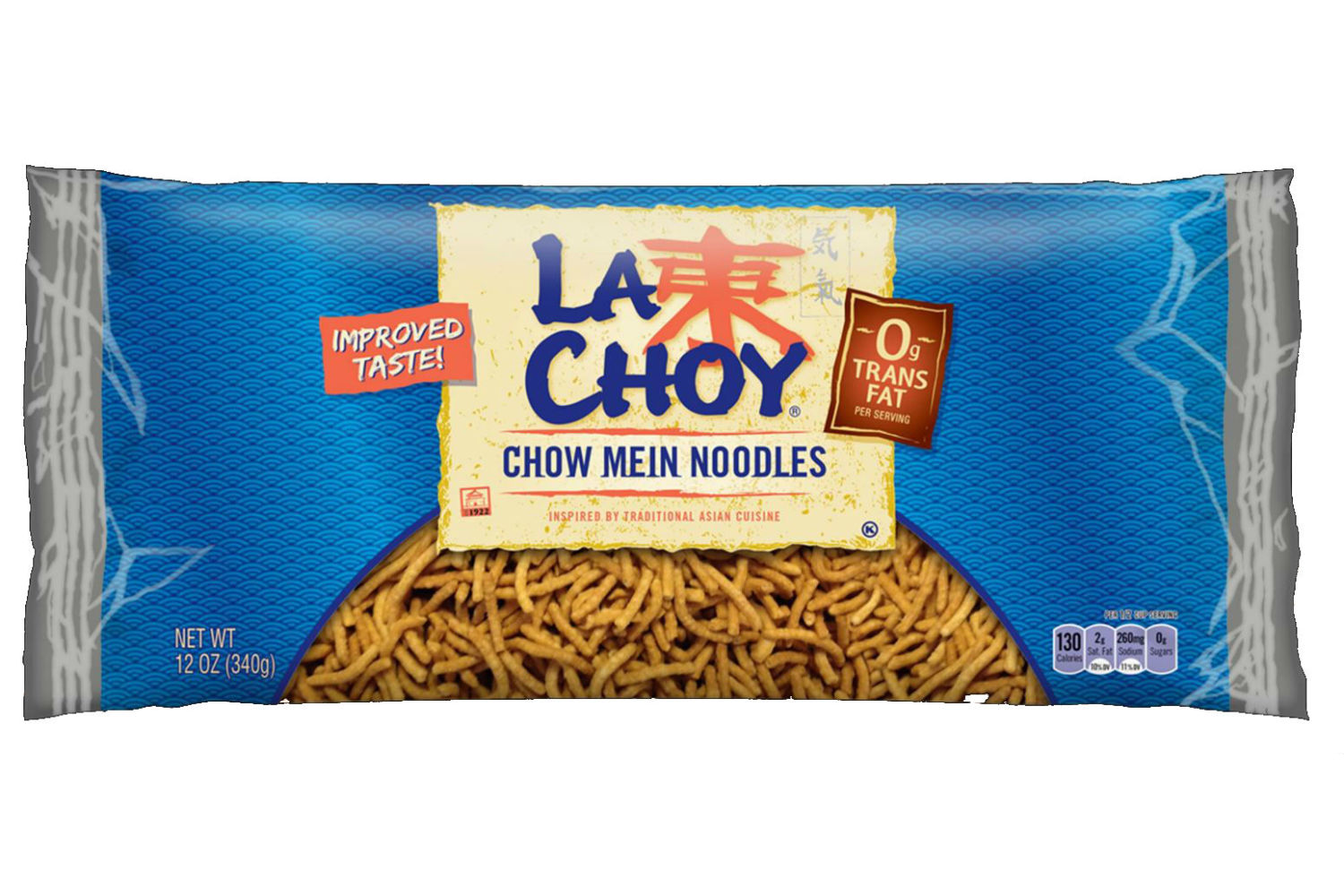 LA CHOY Chow Mein Noodles Bag Display Ready Case