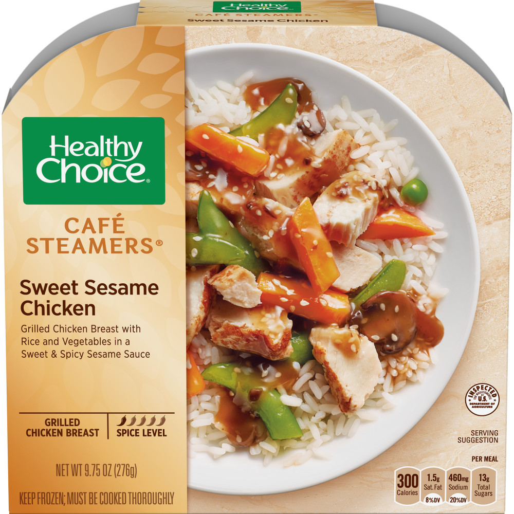 HEALTHY CHOICE Cafe Steamers Sweet Sesame Glazed Chicken
