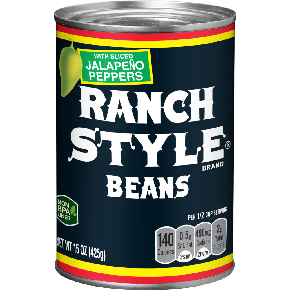 RANCH STYLE Black Label Jalapeno Beans