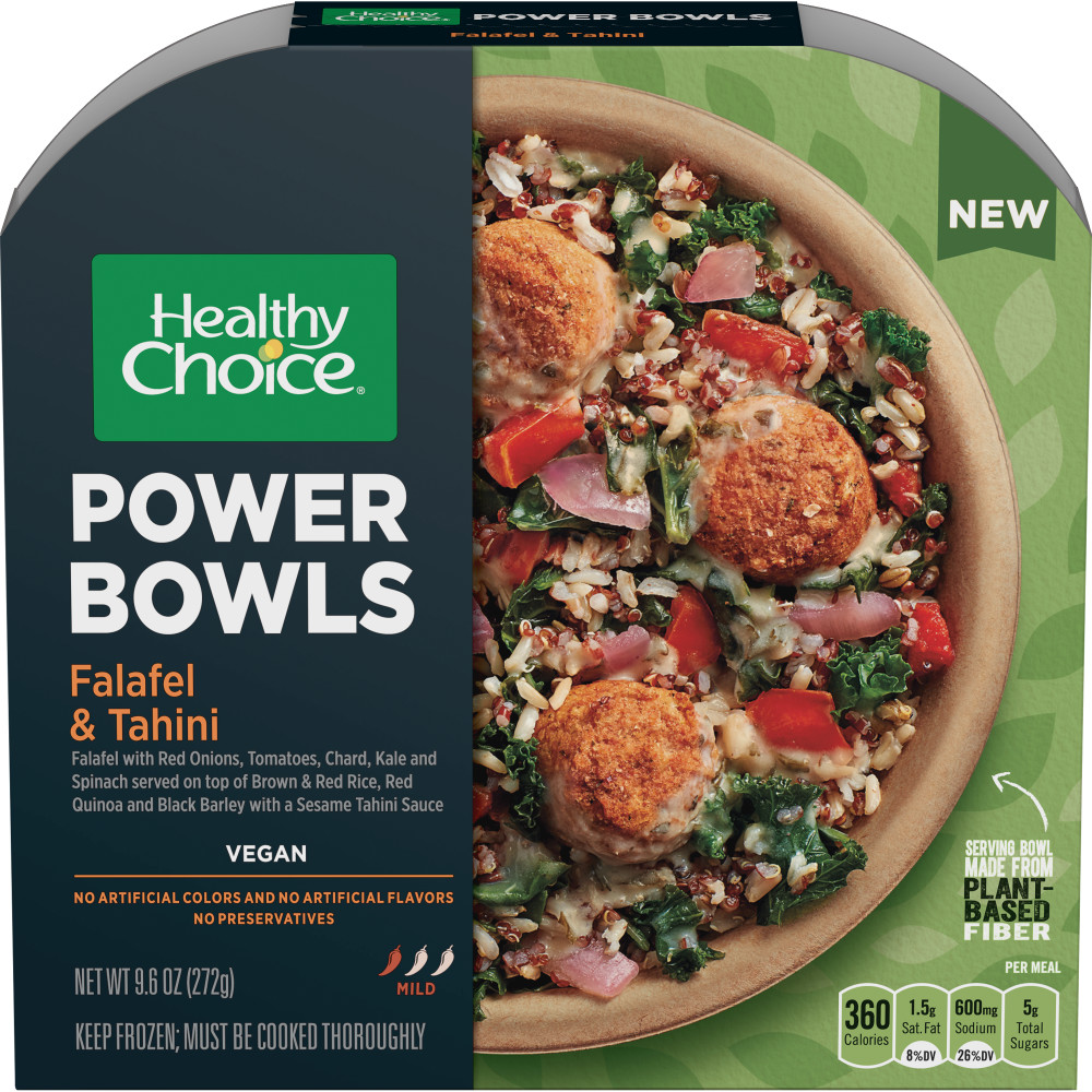 HEALTHY CHOICE Power Bowl Falafel And Tahini Bowl