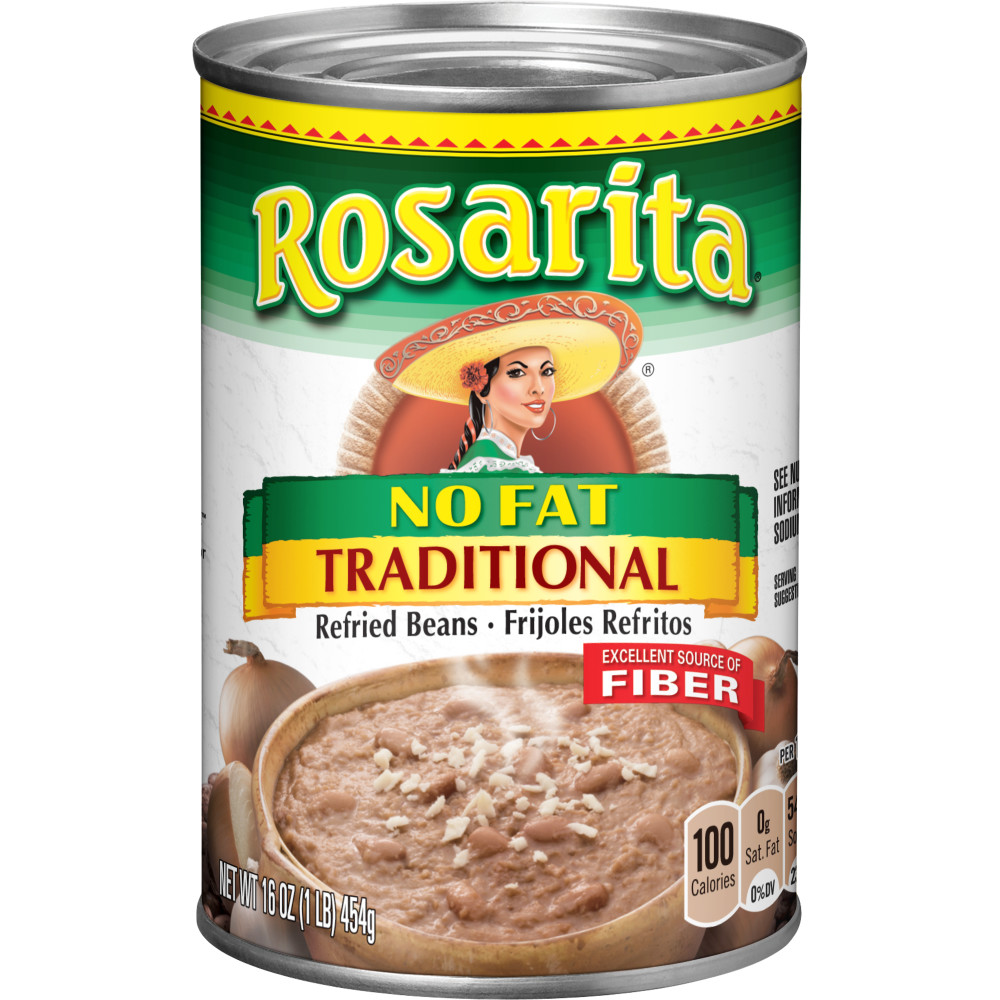 ROSARITA Non Fat Refried Beans