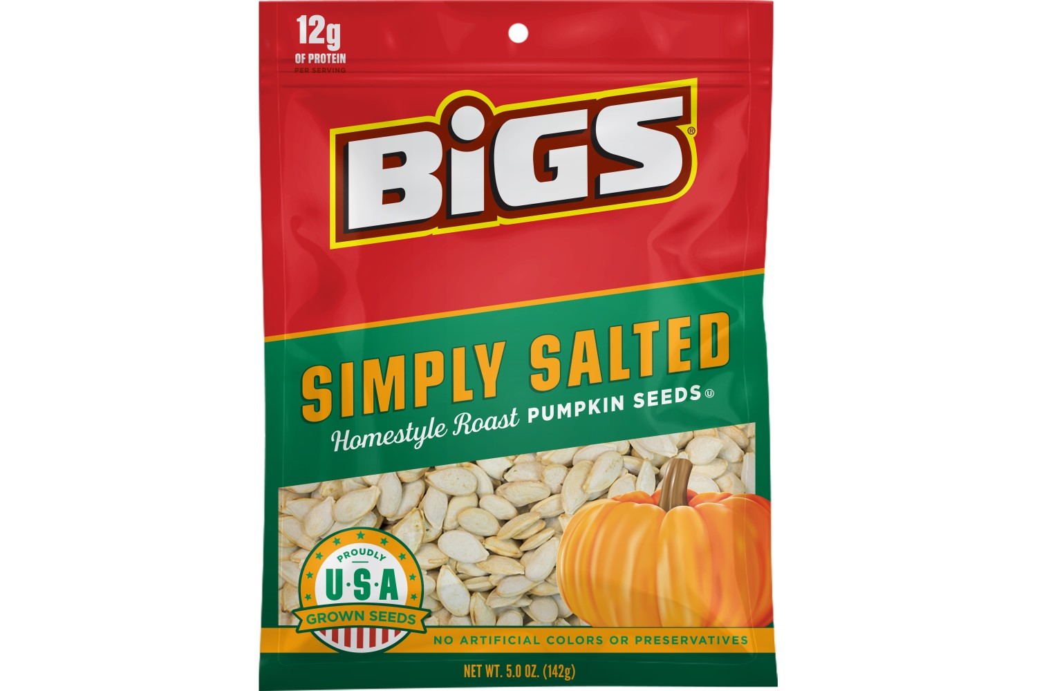 BIGS Simply Salted Pumpkin Seeds