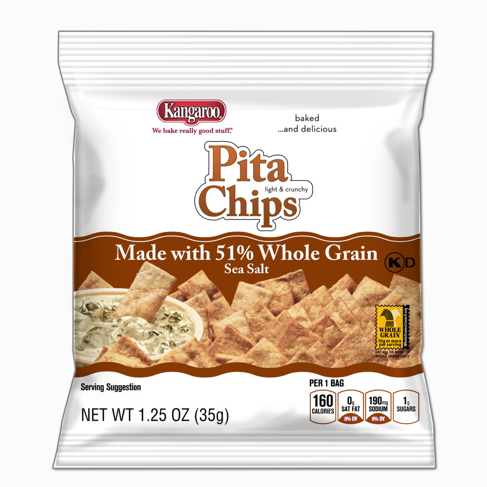 KANGAROO Whole Grain Pita Chips