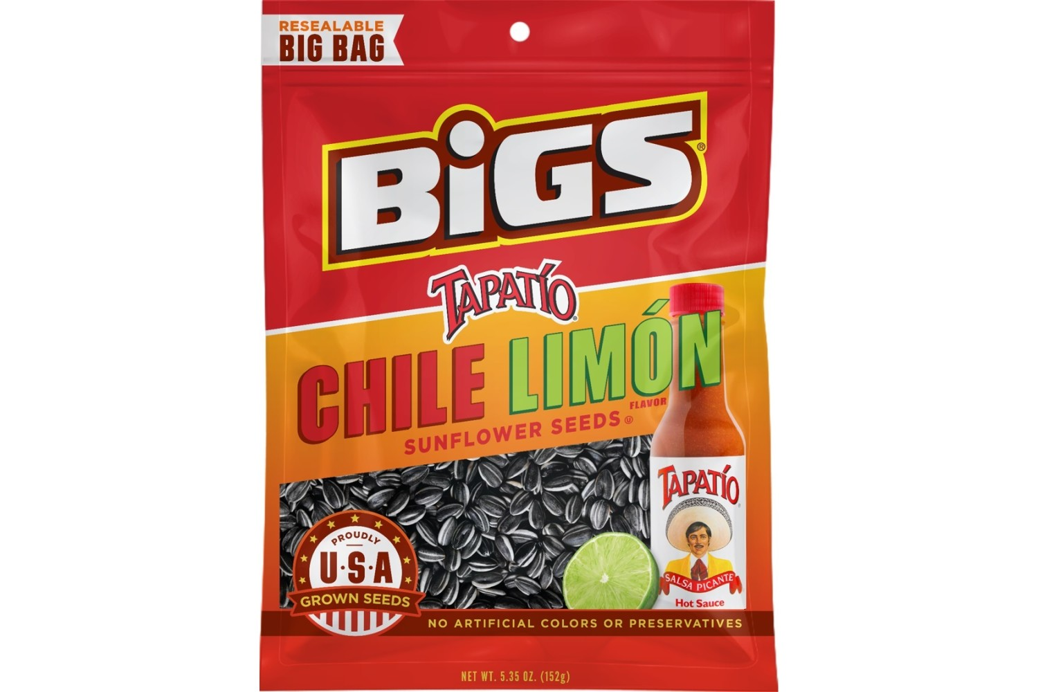 BIGS Tapatio Chile Limon Sunflower Seeds
