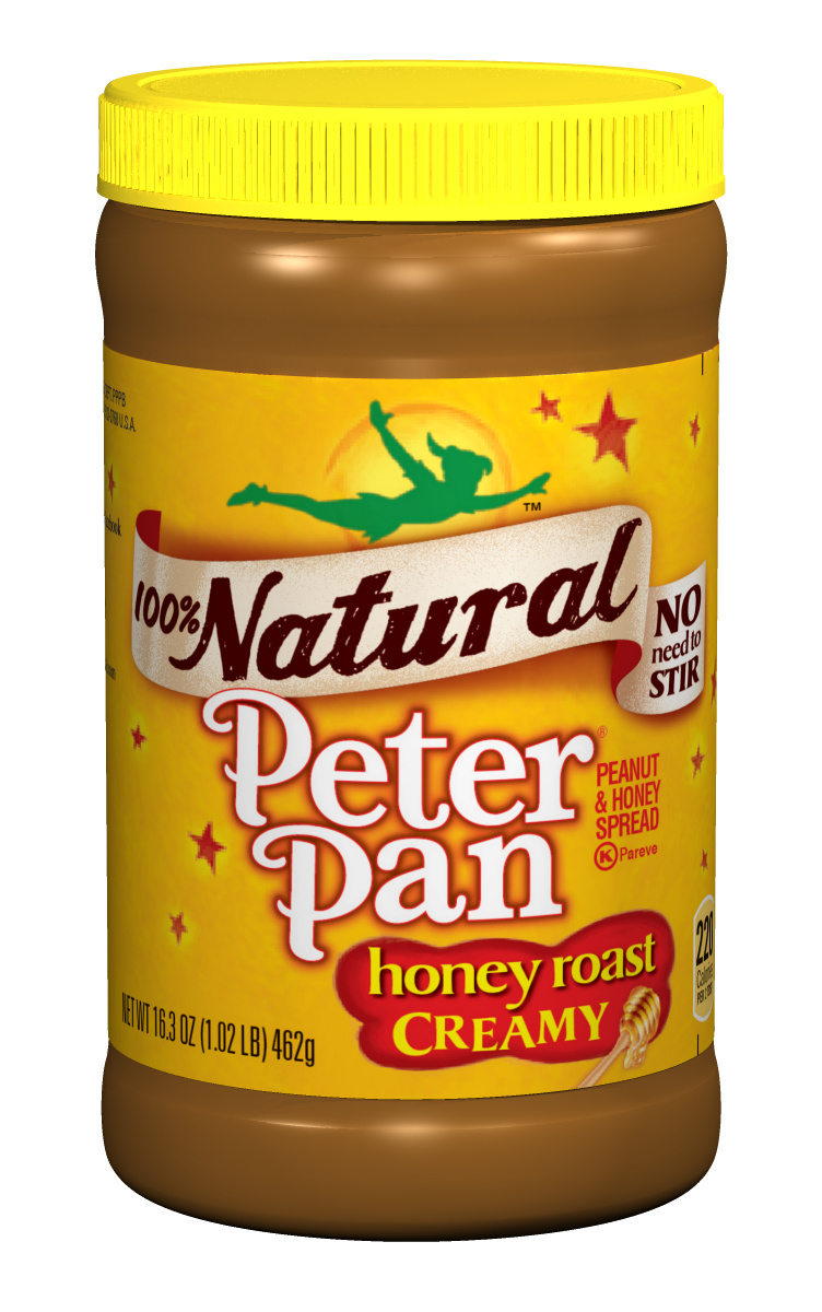 PETER PAN Natural Honey Roasted Creamy Peanut Butter