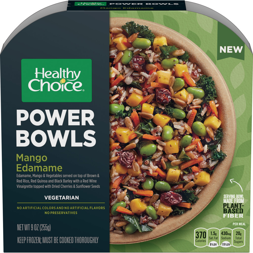 HEALTHY CHOICE Power Bowl Mango Edamame