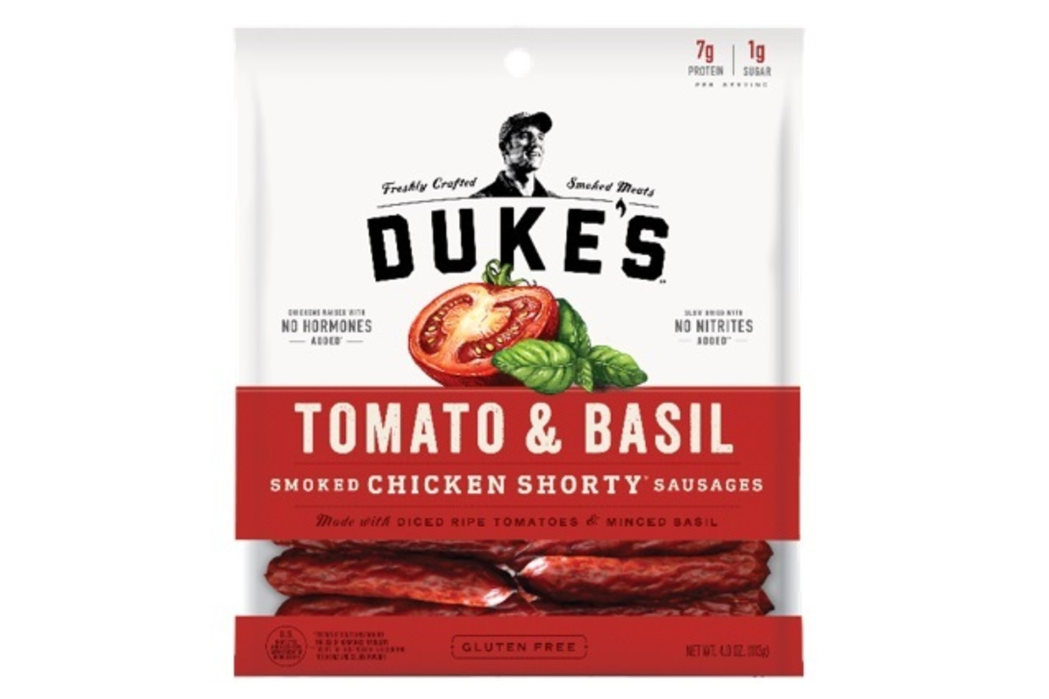 DUKES Tomato and Basil Chicken Sausages