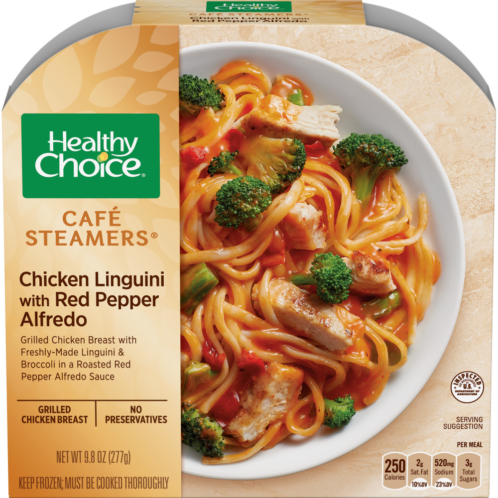 HEALTHY CHOICE Cafe Steamers Chicken Linguini Alfredo