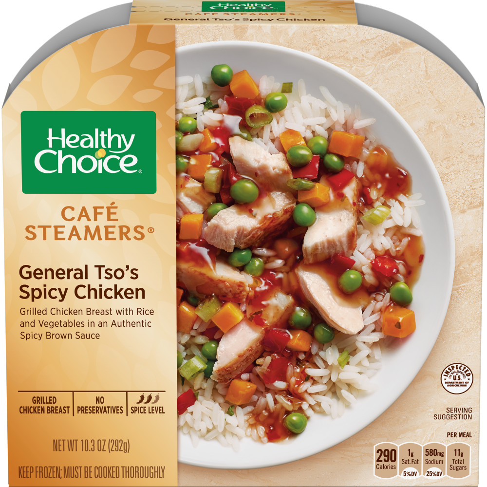 HEALTHY CHOICE Cafe Steamer General TSO Chicken