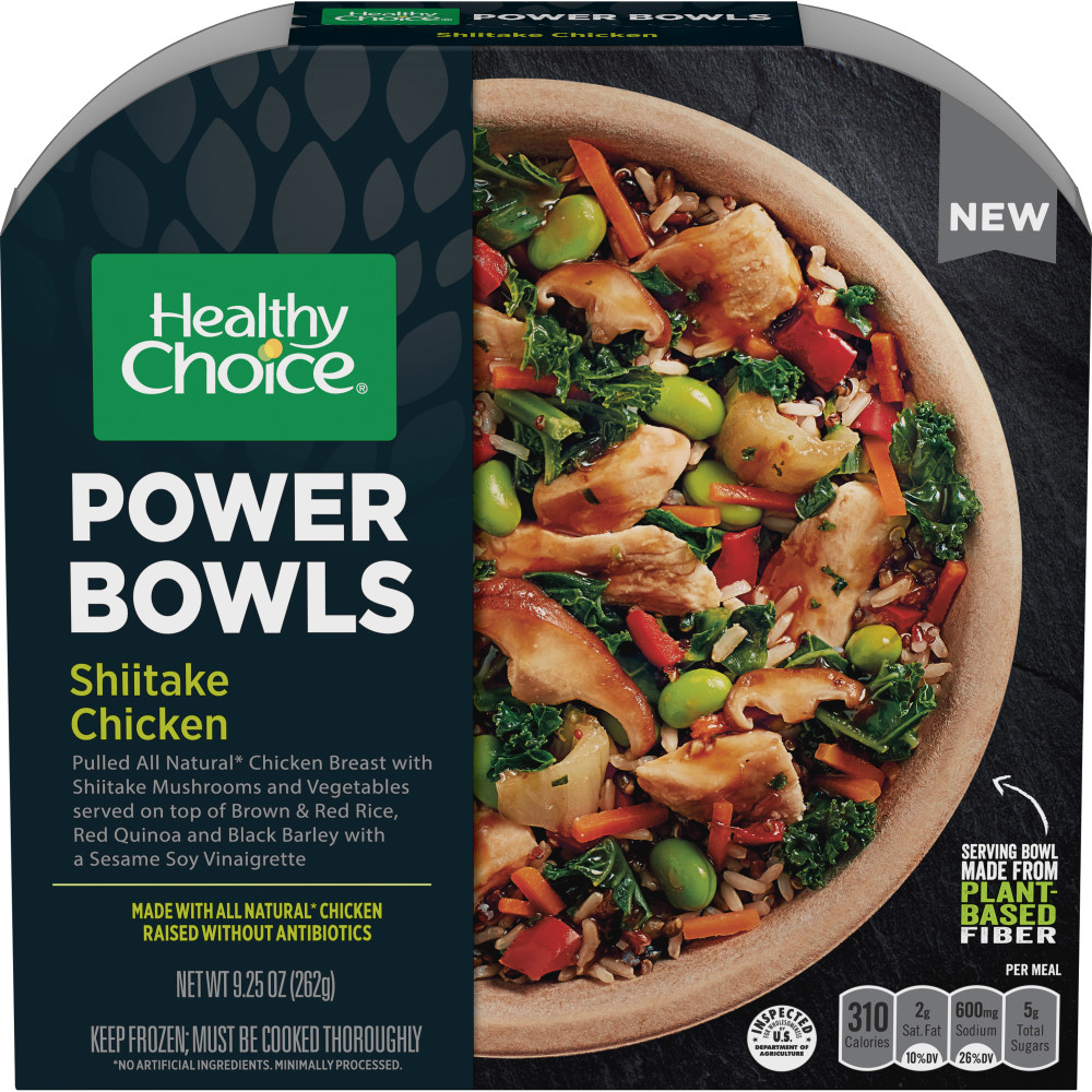 HEALTHY CHOICE Power Bowls Shiitake Chicken