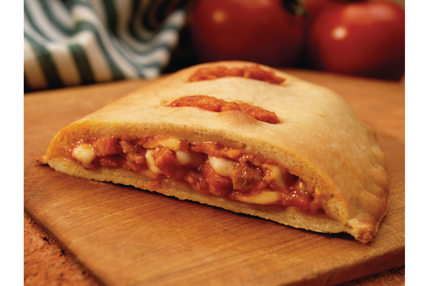 Whole Grain Meat Combo Calzone, 4.69 oz, CN