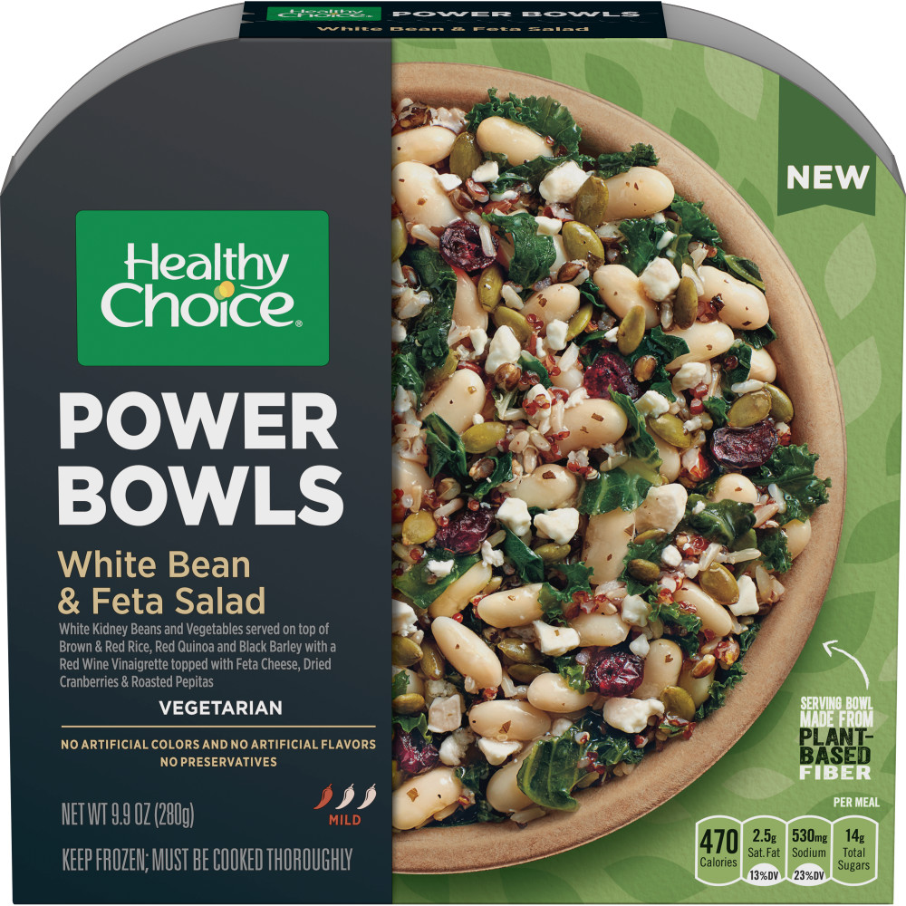 HEALTHY CHOICE Power Bowl Warm White Bean And Feta Salad