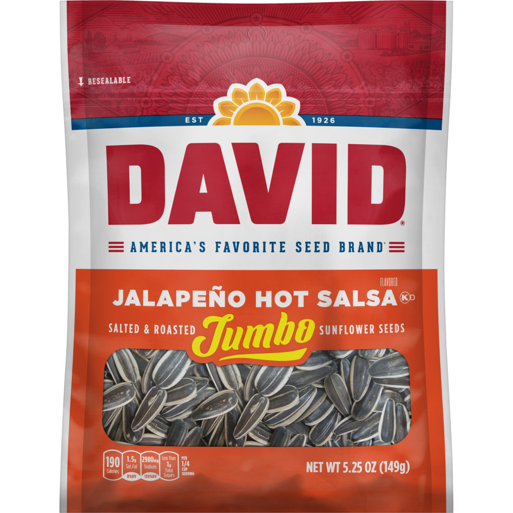 DAVID Salsa Sunflower Seeds