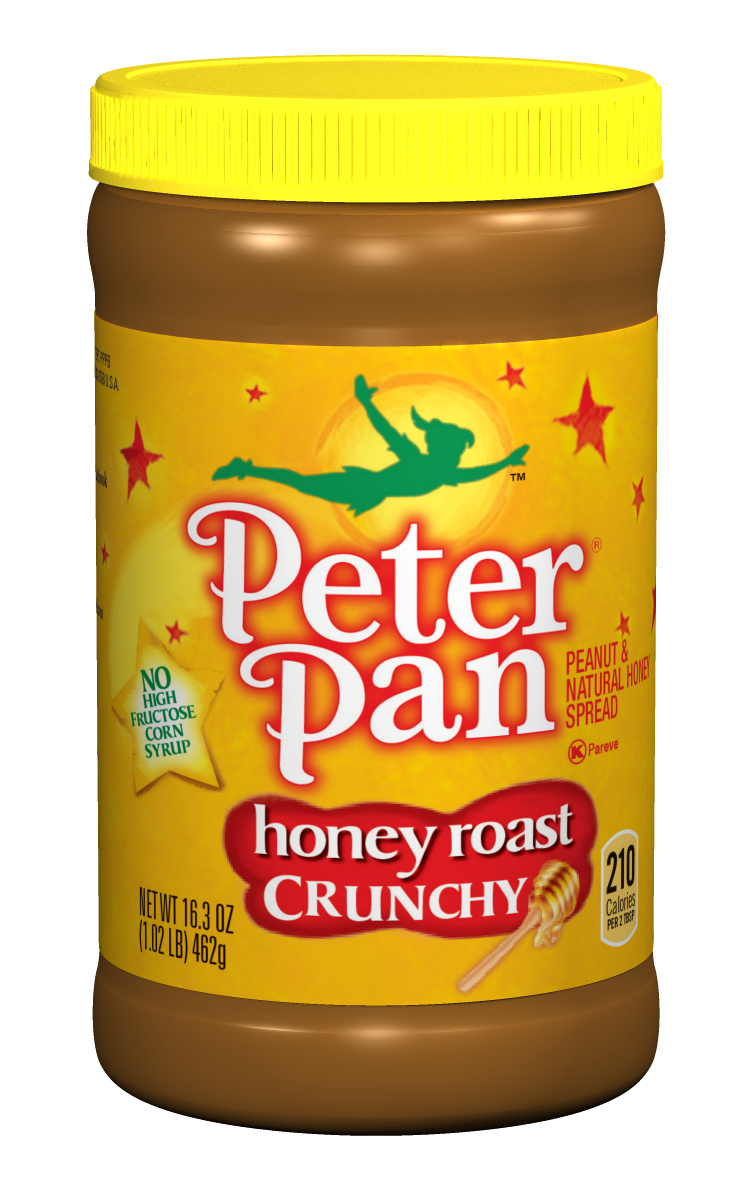 PETER PAN Crunchy Honey Roast Peanut Butter