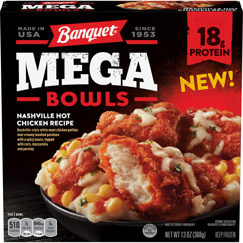 BANQUET Mega Bowl Nashville Hot Chicken