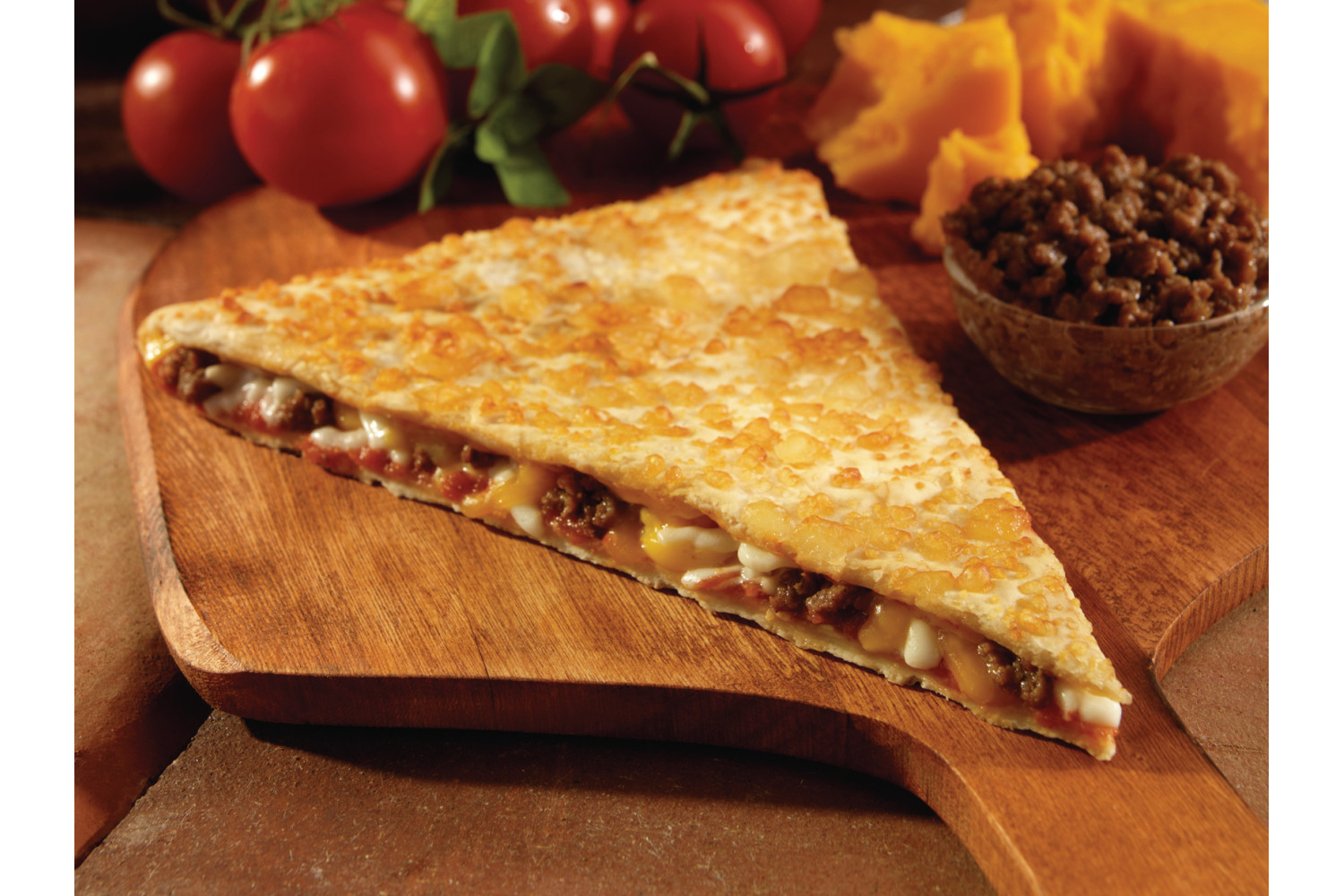 Beef Quesadilla, Whole Grain, 5 oz, CN