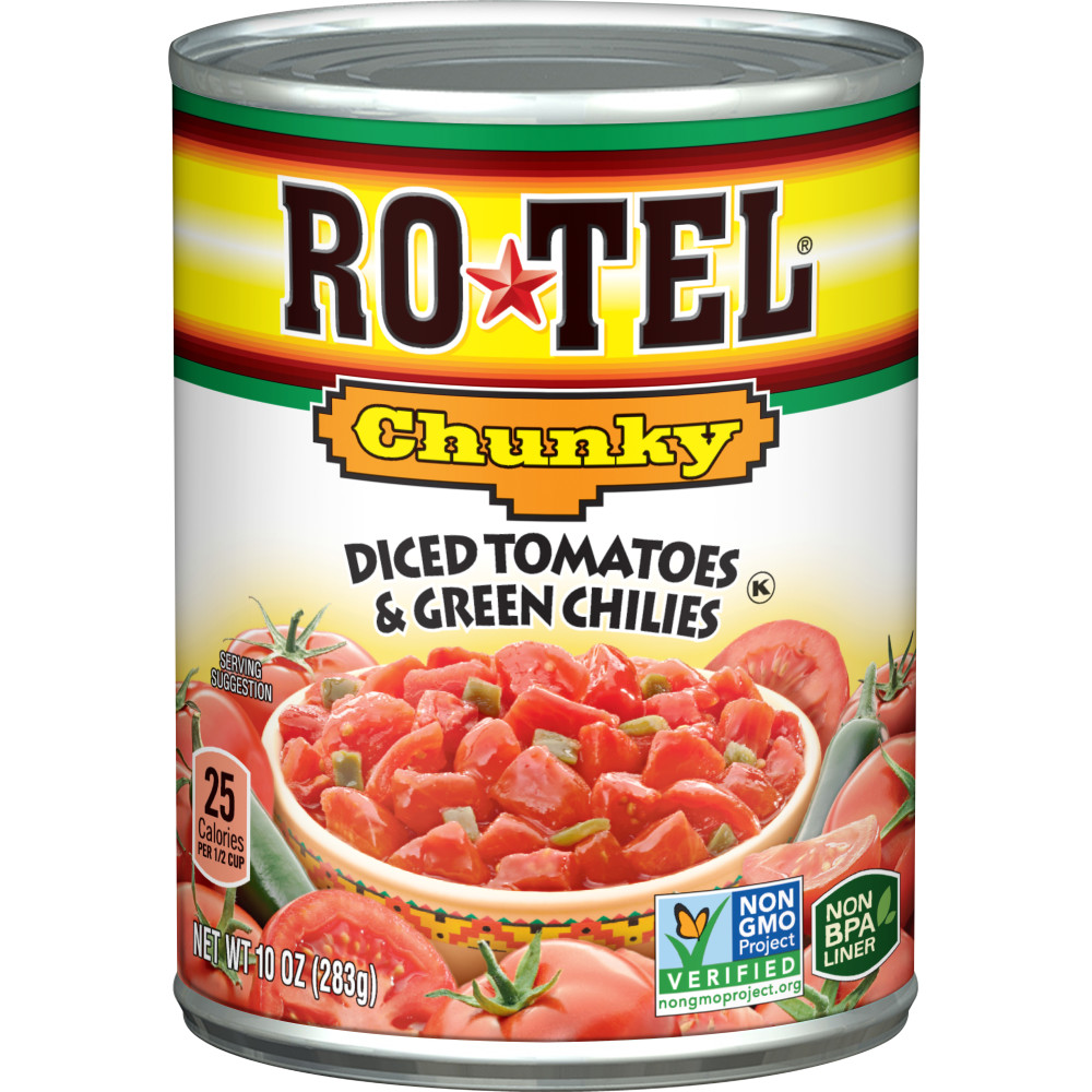 ROTEL Diced Chunky Tomatoes