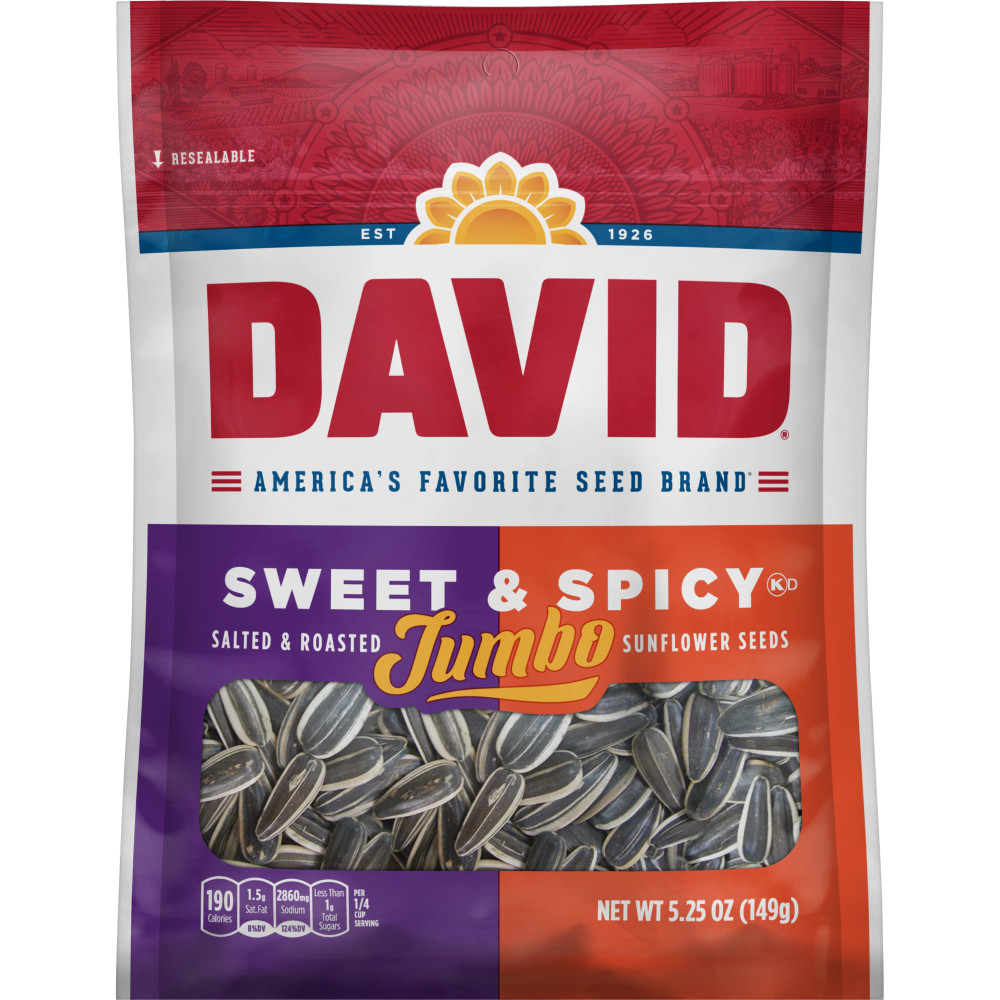 DAVID Sweet And Spicy Seeds