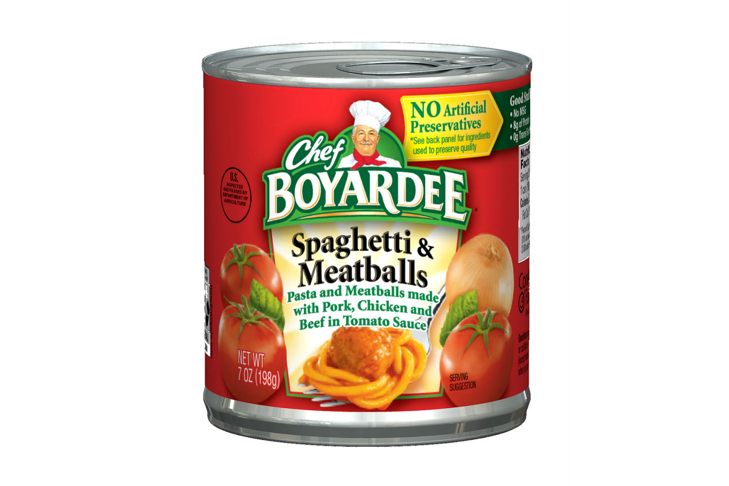 CHEF BOYARDEE Easy Open Spaghetti and Meatballs