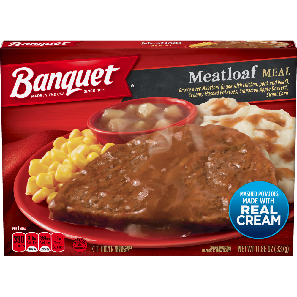 BANQUET Classic Meatloaf Meal