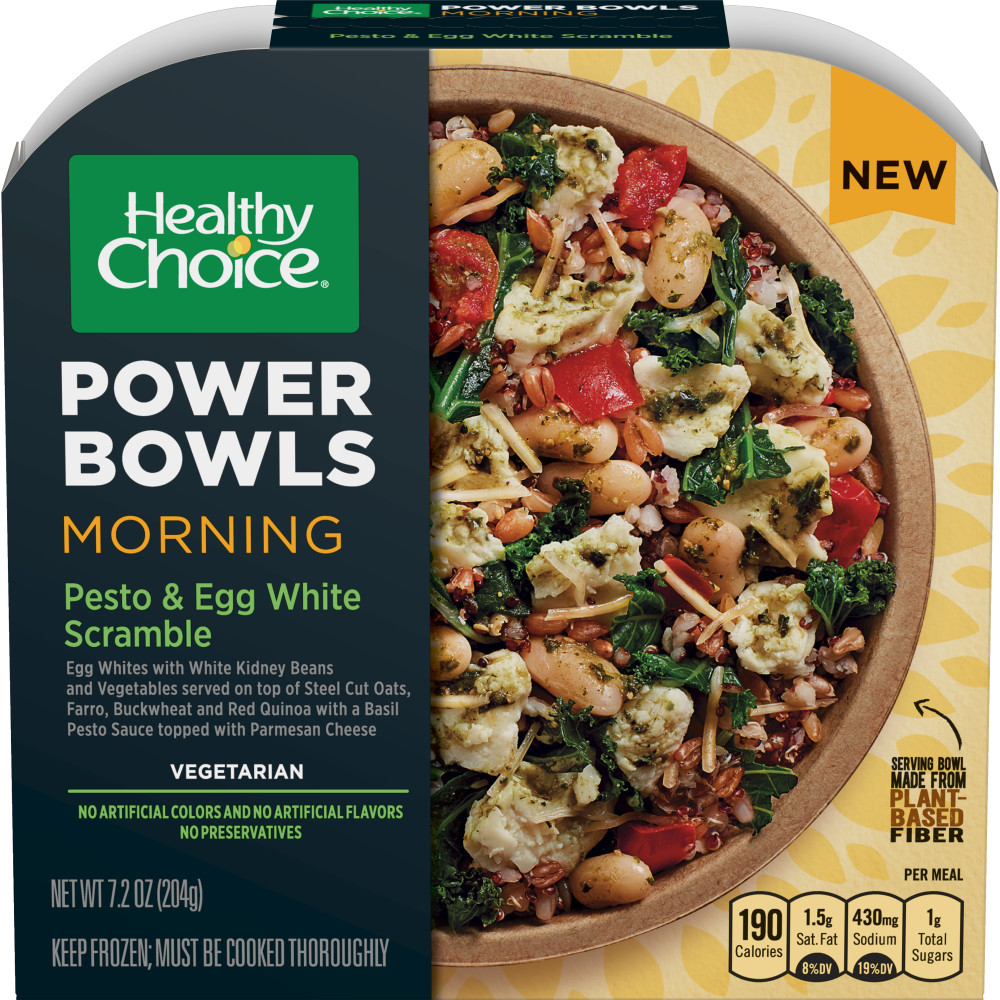 HEALTHY CHOICE Power Bowl Pesto And Egg Scramble