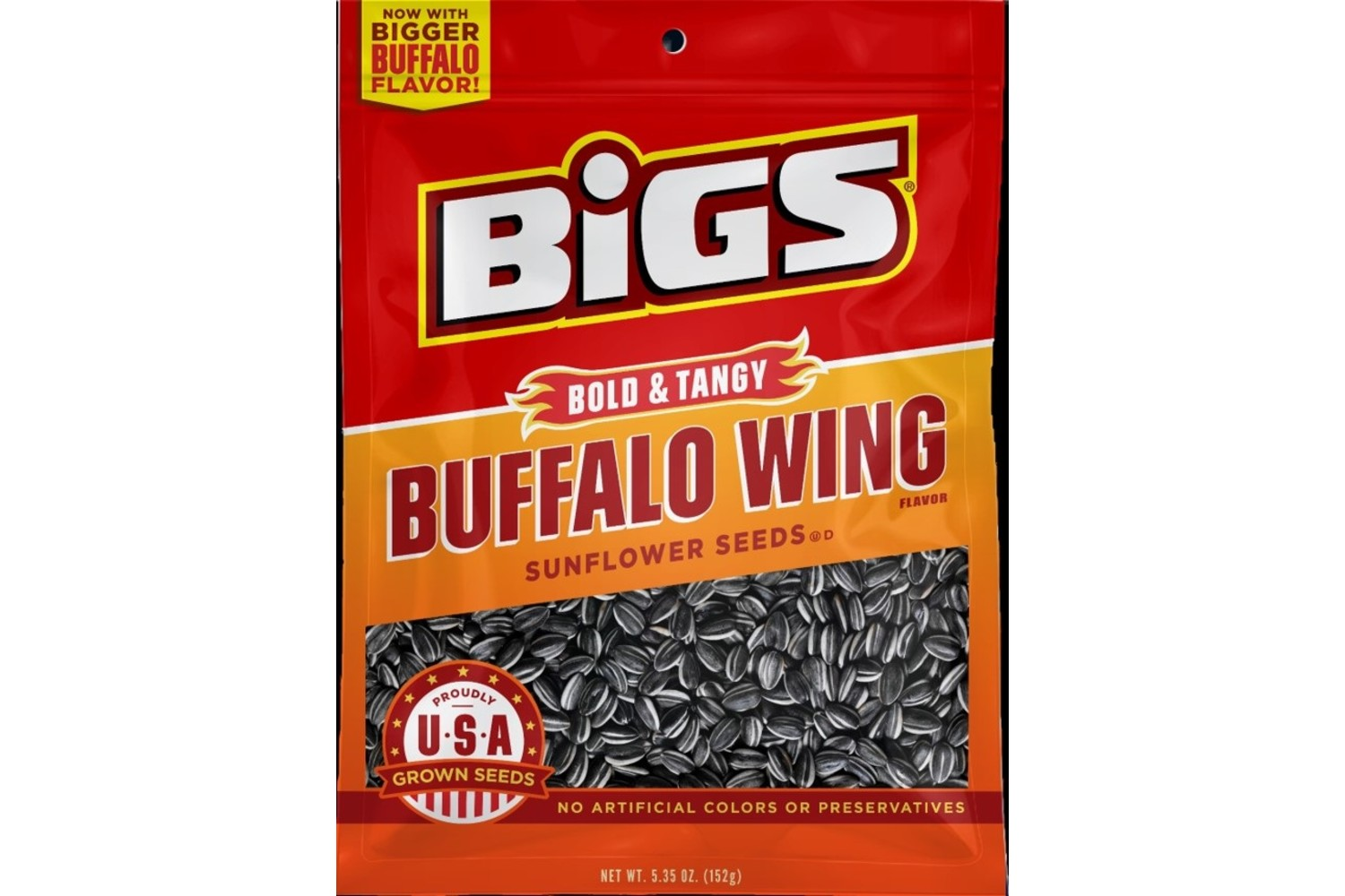 BIGS Buffalo Wing Sunflower Seeds