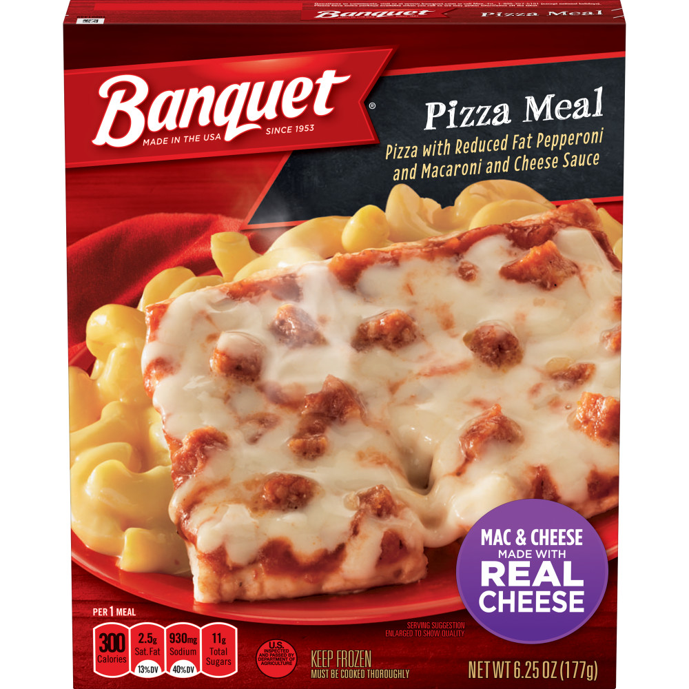 BANQUET Basic Pepperoni Pizza Meal