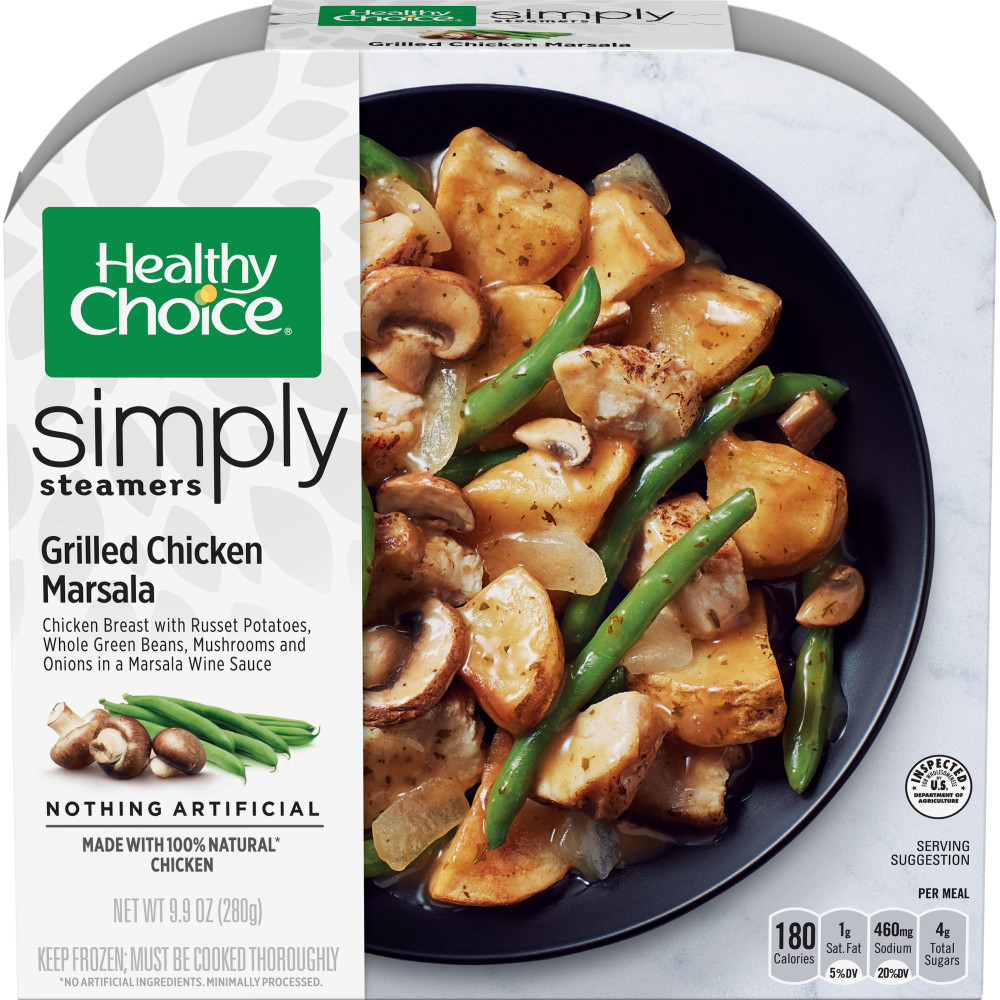 HEALTHY CHOICE Simply Steamers Roasted Chicken Marsala