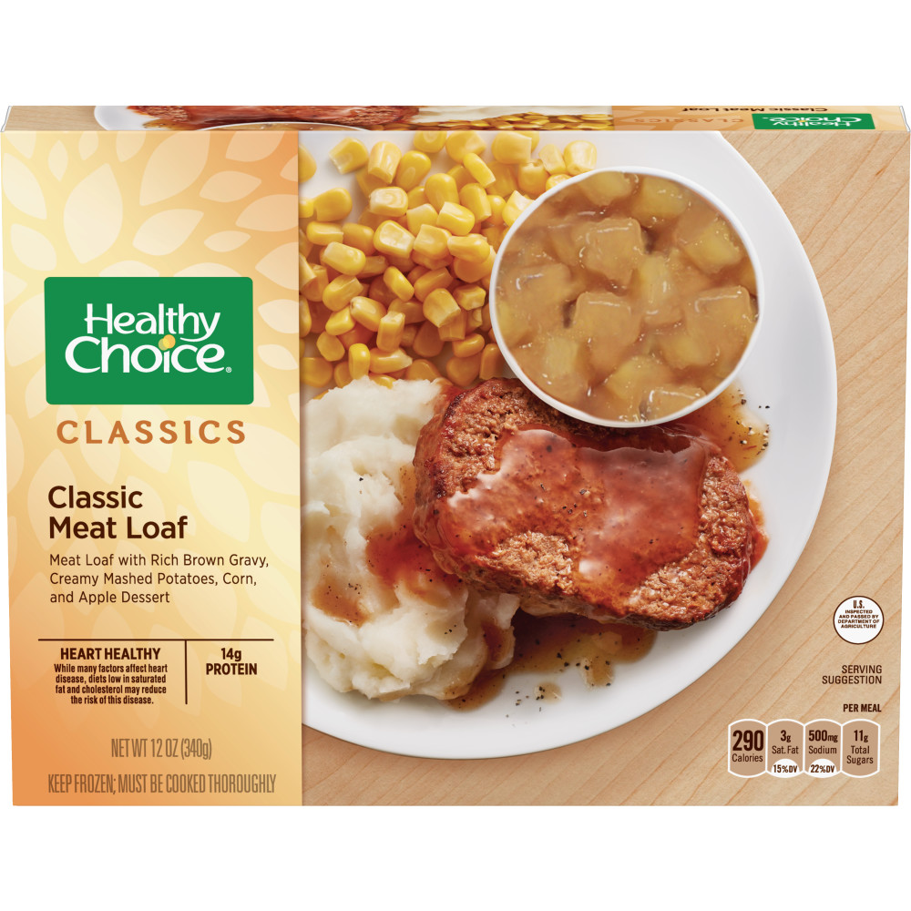 HEALTHY CHOICE Classic Meat Loaf Complete Meal