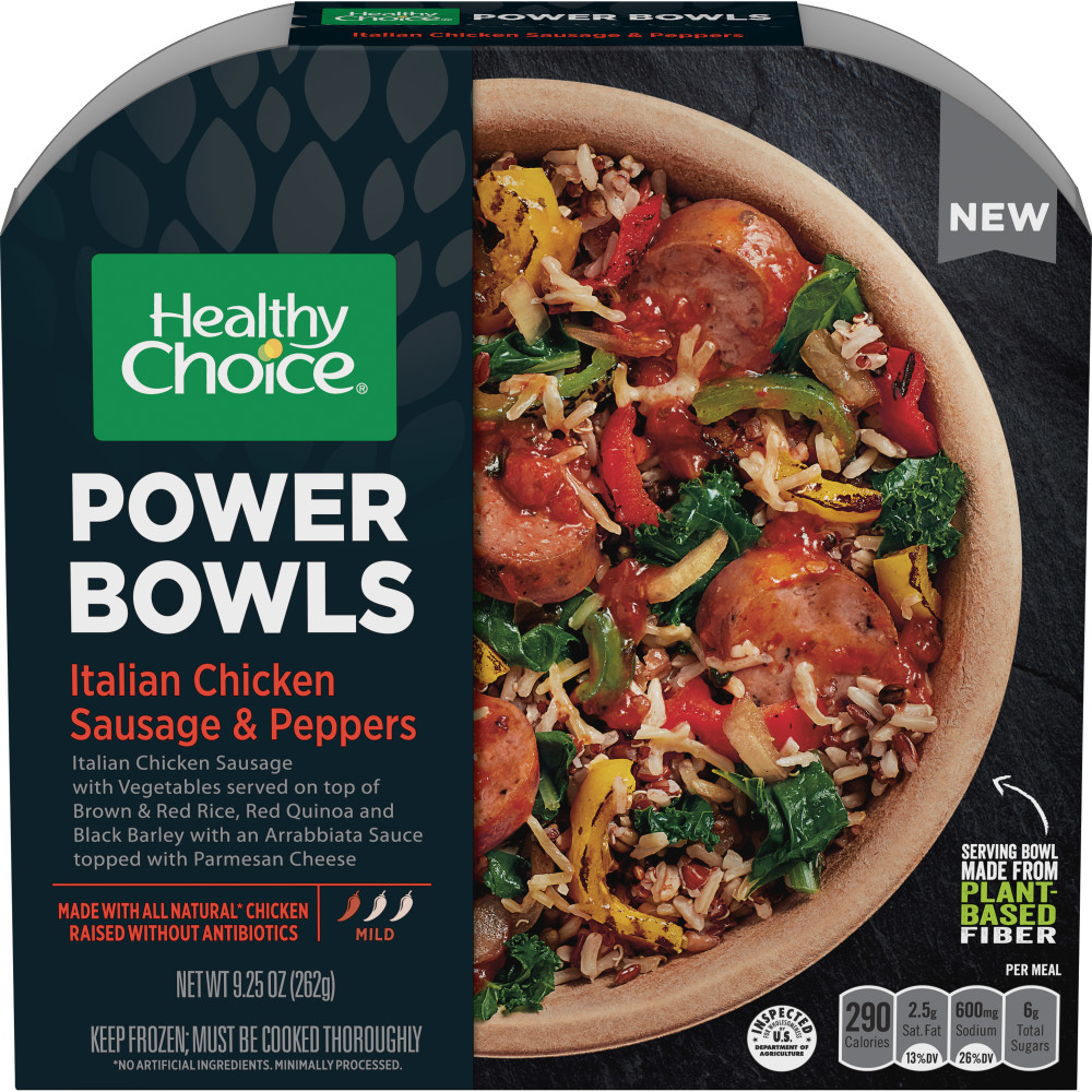 HEALTHY CHOICE Power Bowls Italian Chicken Sausage And Peppers