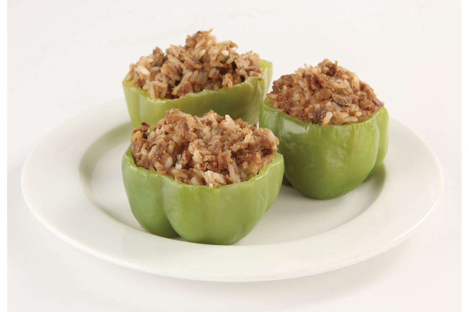Stuffed Green Peppers - Dry Pack, Bulk, 48 to case