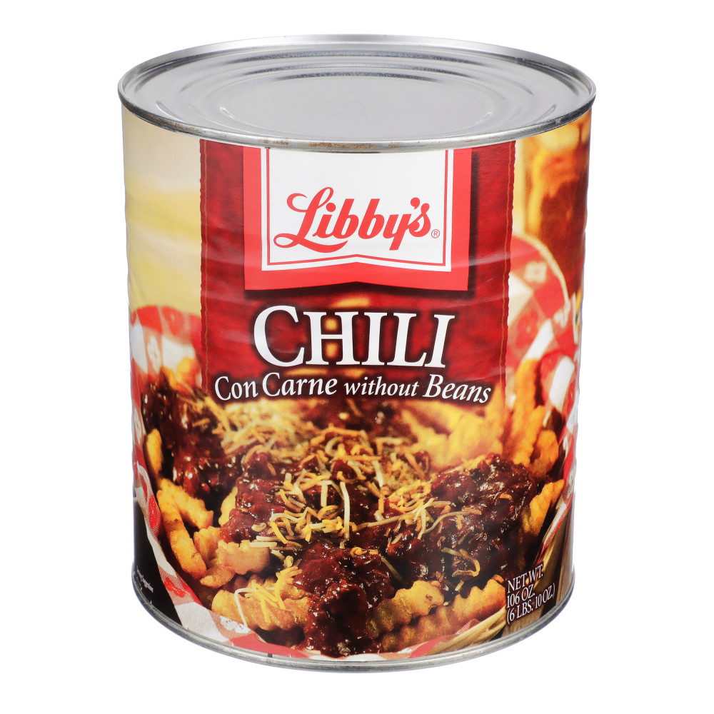 Chili without Beans - #10 Can