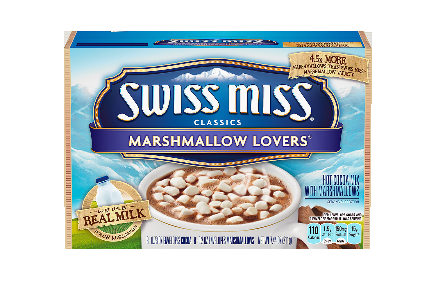 SWISS MISS Cocoa Marshmallow Lovers