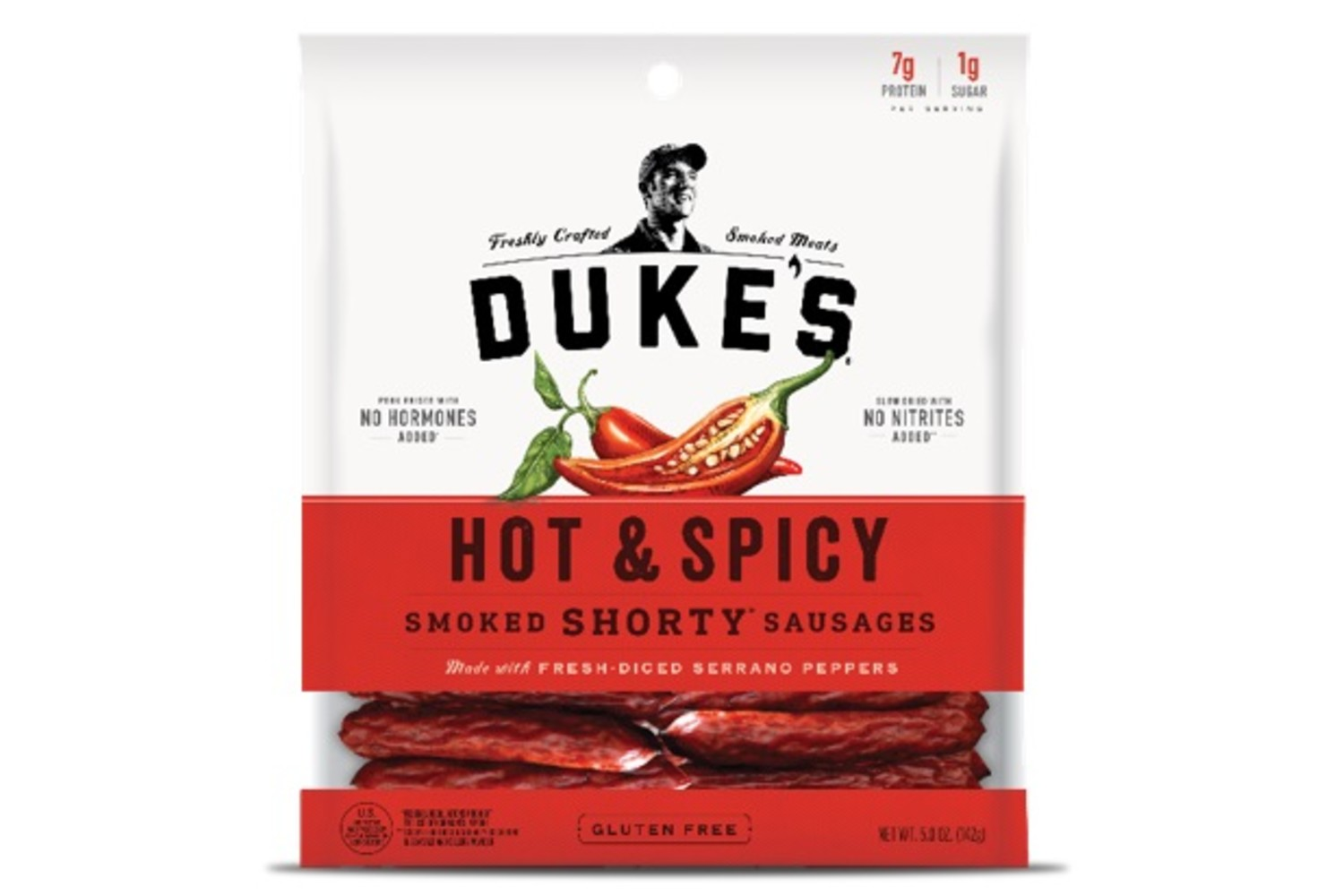 DUKES Hot and Spicy Pork Sausages