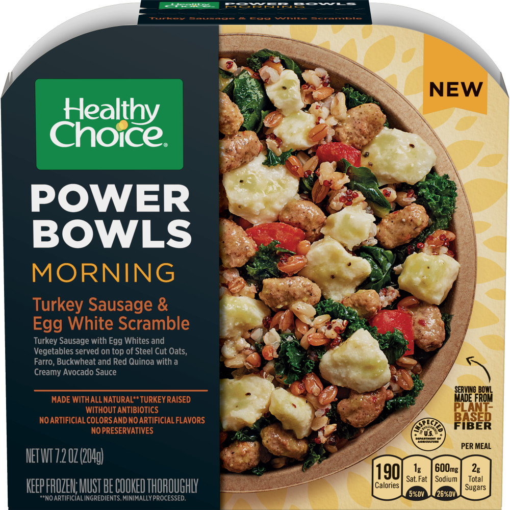 HEALTHY CHOICE Power Bowl Turkey Sausage Scramble