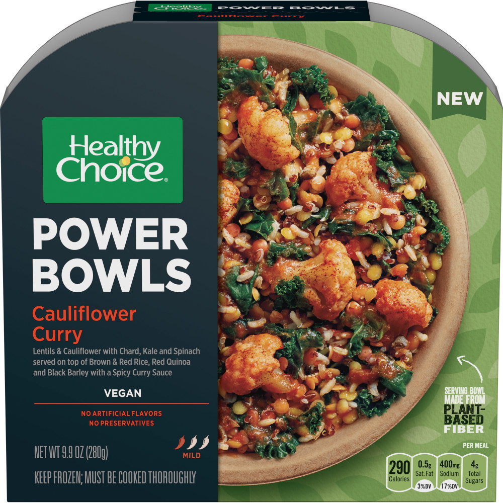 HEALTHY CHOICE Power Bowl Cauliflower Curry