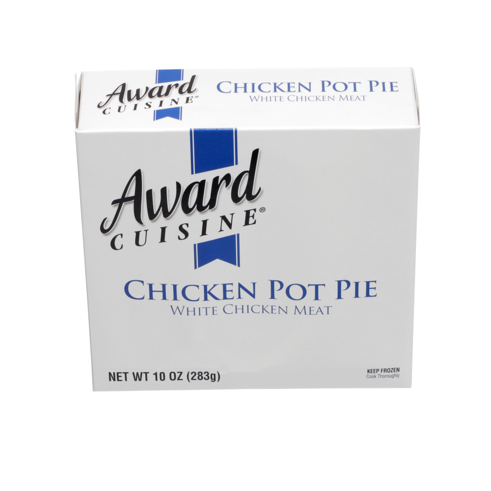 AWARD CUISINE Chicken Pot Pie