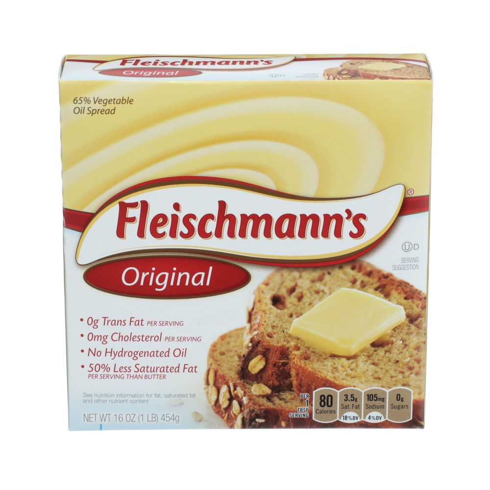 FLEISCHMANNS Original Soft Spread Quarters Sticks