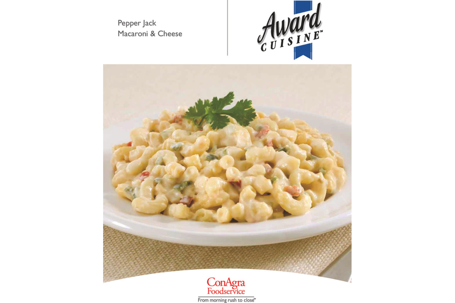 AWARD CUISINE Pepperjack Macaroni And Cheese