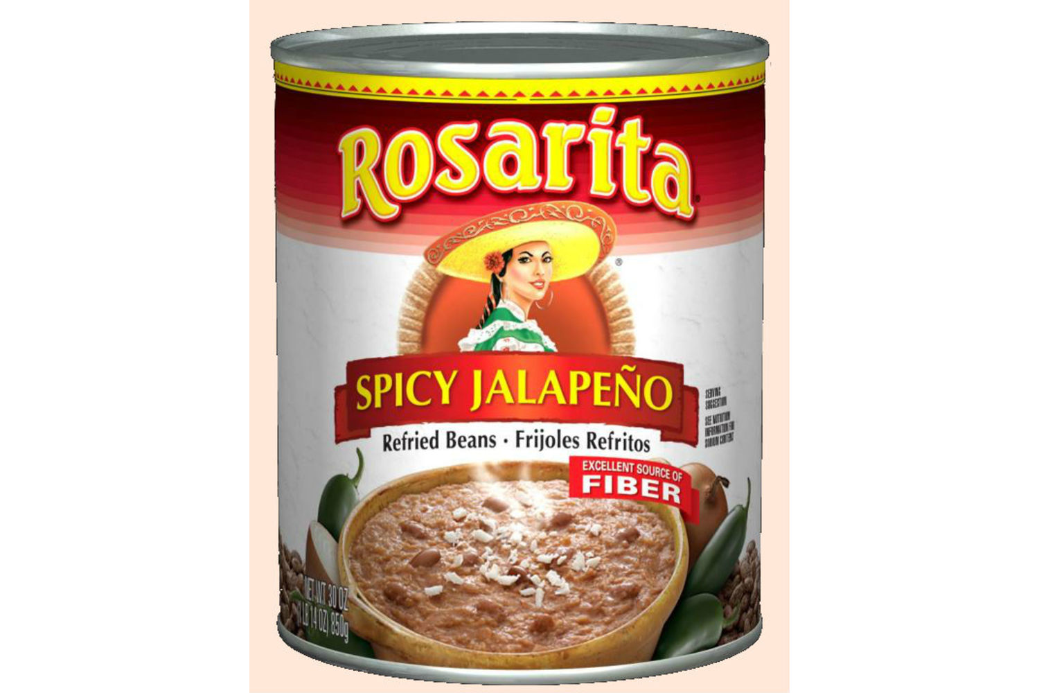 ROSARITA Spicy Refried Beans