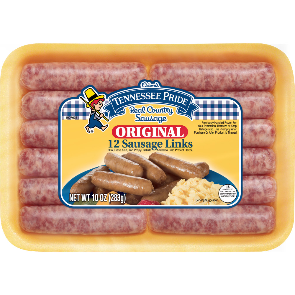 ODOMS TENNESSEE PRIDE Sausage Links