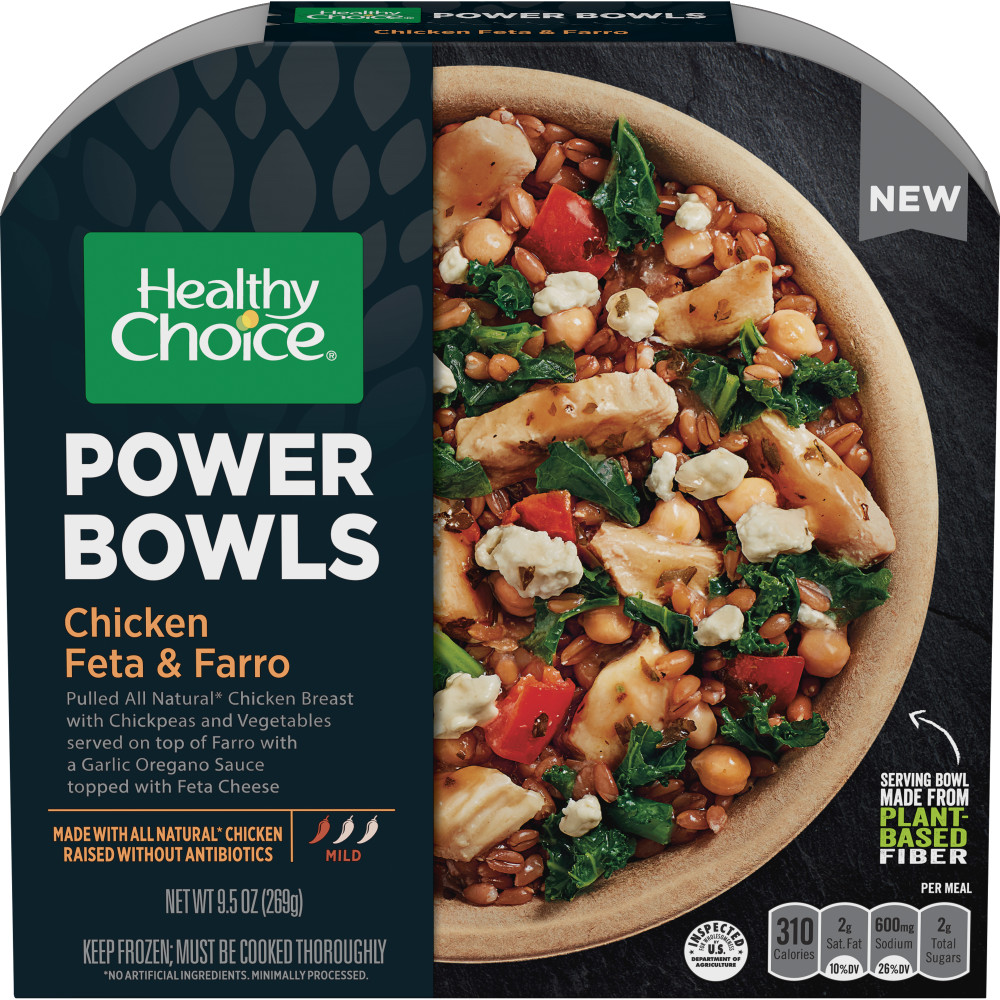 HEALTHY CHOICE Power Bowls Mediterranean Chicken