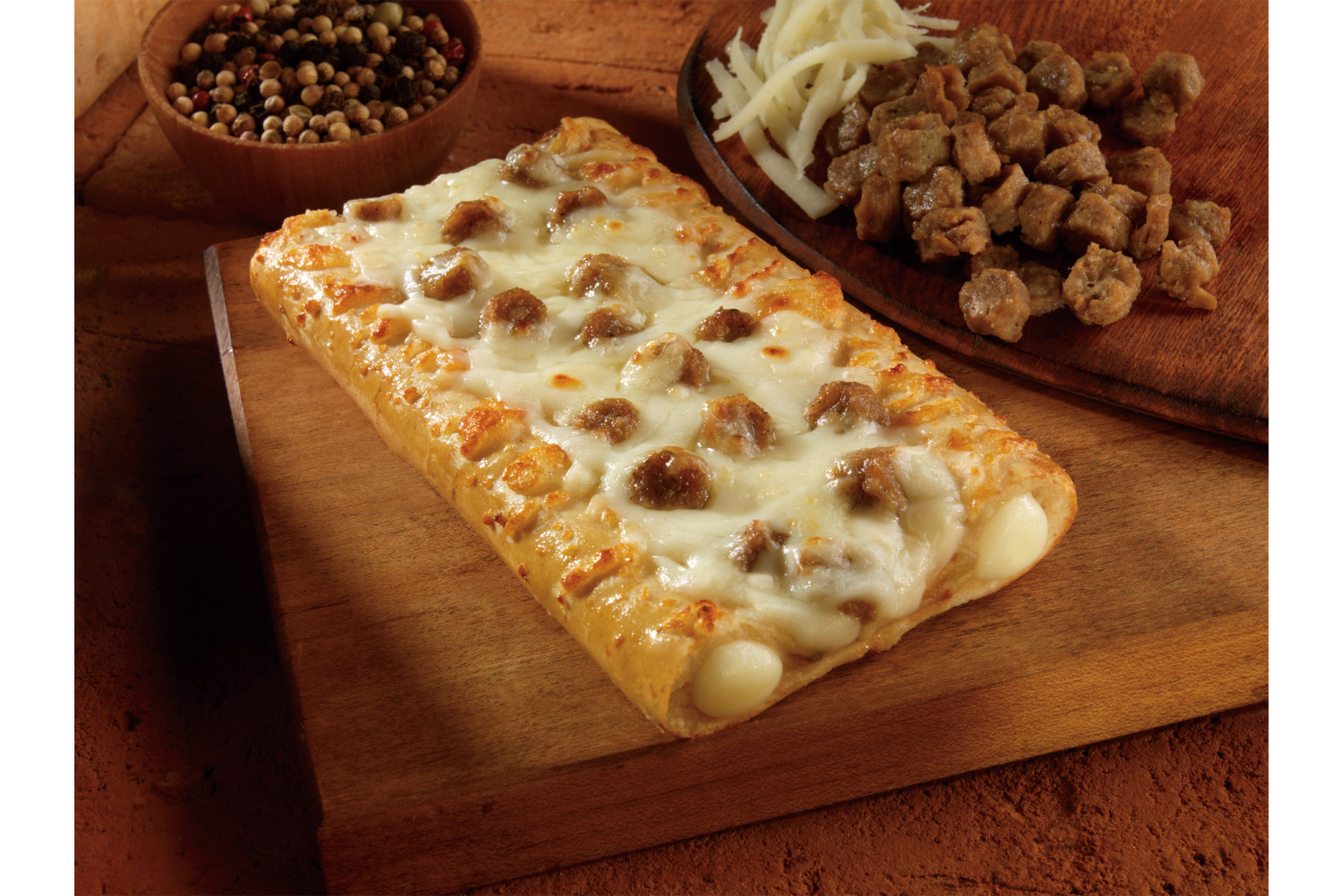 Double Stuff, Sausage & Gravy Breakfast Pizza, Whole Grain, 3.05 oz, CN