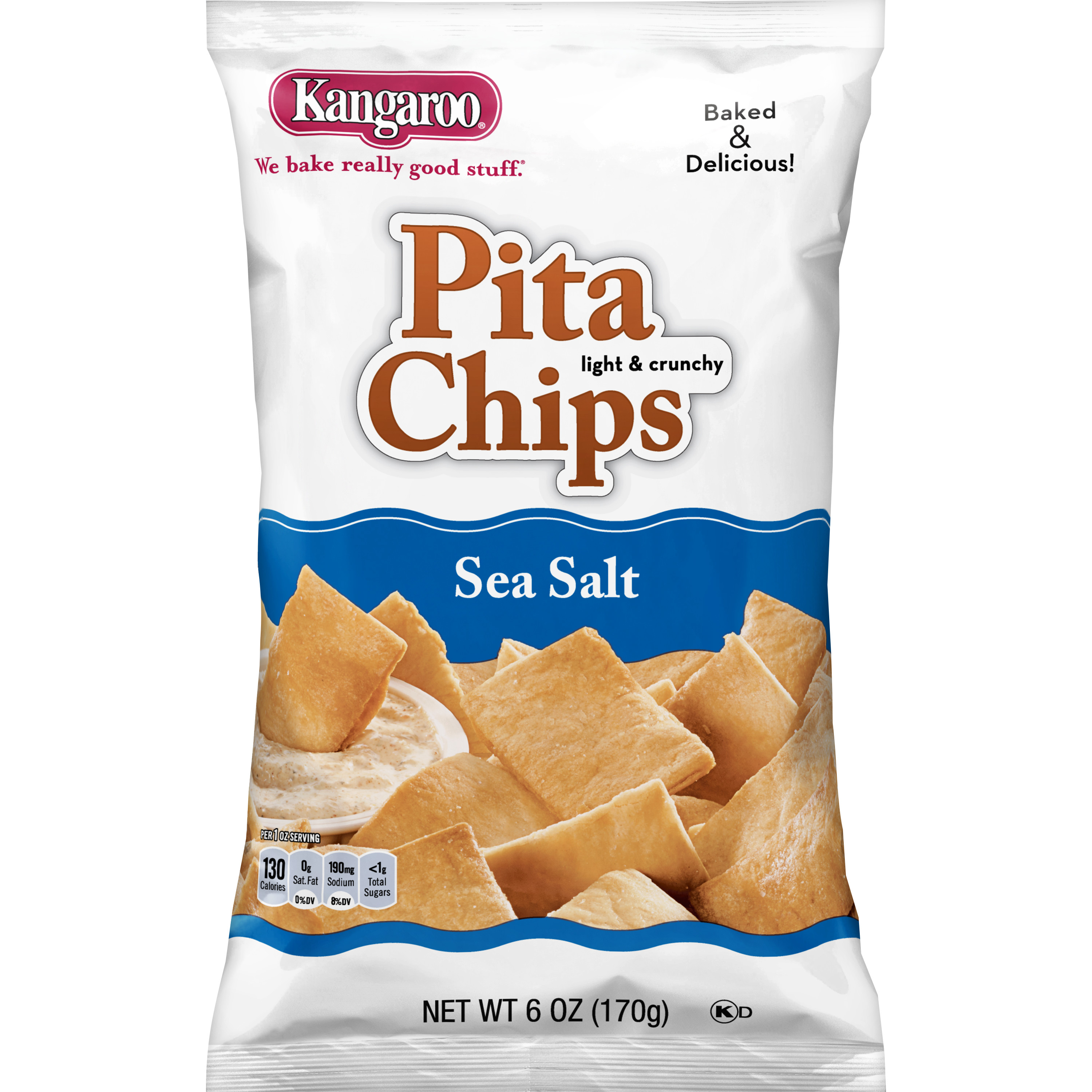 KANGAROO Sea Salt Pita Chips