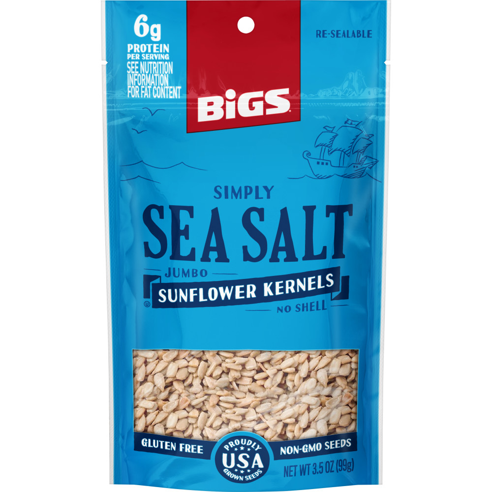 BIGS Simply Sea Salt Sunflower Kernels