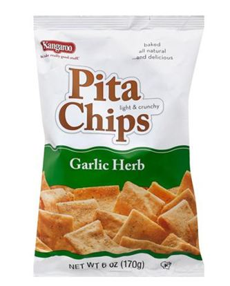 KANGAROO Garlic Herb Pita Chips