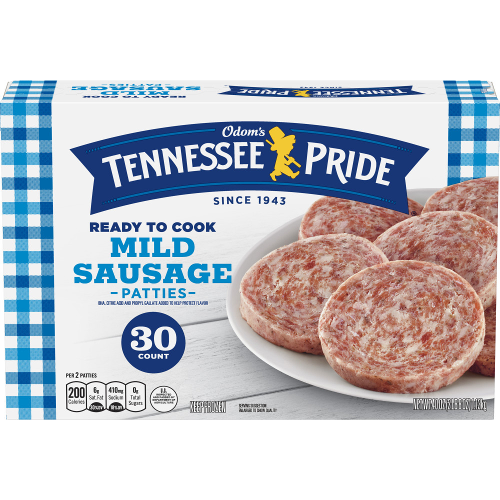 ODOMS TENNESSEE PRIDE Family Pack Sausage Patties